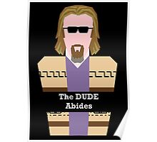 "Jeff ""the Dude"" Lebowski Poster"