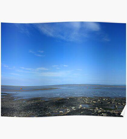 Severn Estuary at Penarth II Poster