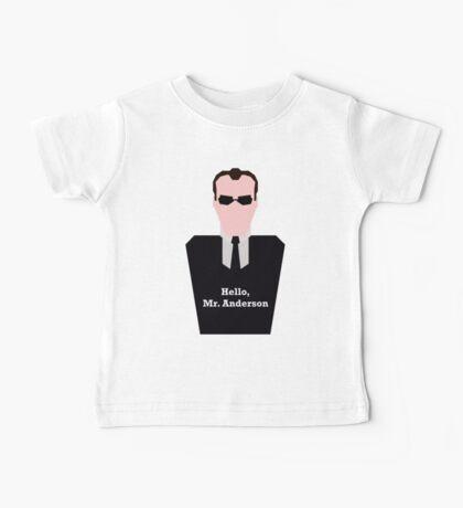 Agent Smith Baby Tee