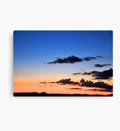 Southwestern Sky - Sunset Canvas Print
