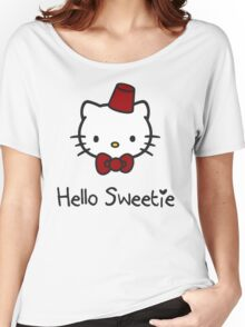 Hello Sweetie Women's Relaxed Fit T-Shirt