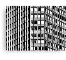 Office Block Canvas Print