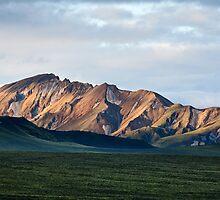 Landmannalaugar - Mountain - Spotlight- Iceland by ArnarBergur
