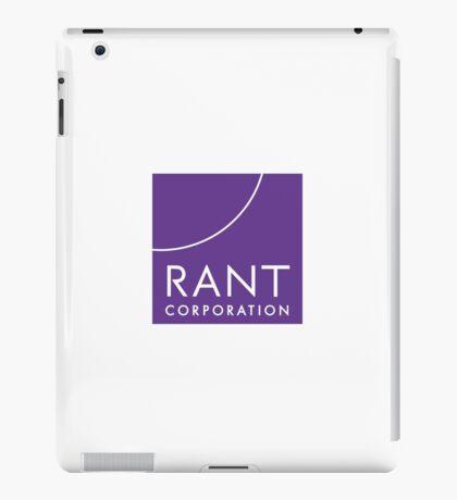 RANT Corporation iPad Case/Skin