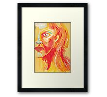 Wonder, Woman Framed Print