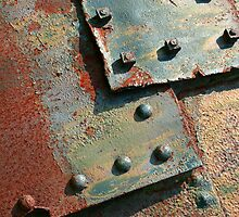 iPhone Case - Bolts and Rivets by Christopher Herrfurth