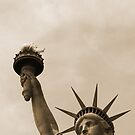 lady liberty sepia by vinpez