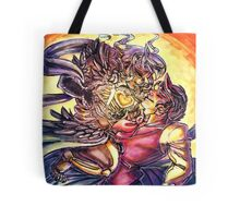 The Lich Queen takes her Prize Tote Bag