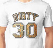 Dirty 30 Rusty Metal Unisex T-Shirt