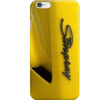 Corvette Stingray iPhone Case/Skin