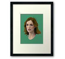 Jemma Simmons Framed Print