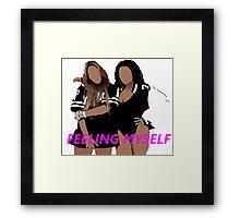 Feeling Myself (Music Tee) Framed Print
