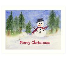 Let it snow, let it snow.... Art Print