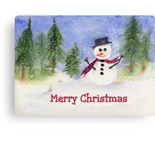 Let it snow, let it snow.... Canvas Print