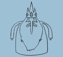 Ice King Line Sketch by joshdbb
