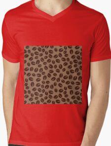 Coffee Beans Mens V-Neck T-Shirt