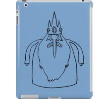 Ice King Line Sketch iPad Case/Skin