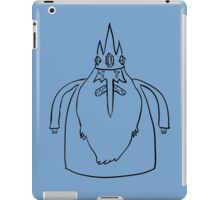 Ice King Line Sketch iPad Case/Skin