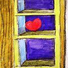Heart on a Shelf by Marriet