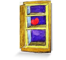 Heart on a Shelf Greeting Card