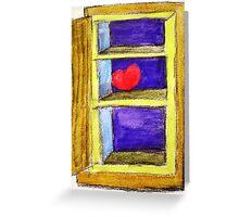 Heart on a Shelf Greeting Card