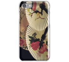 Flowers on Fans (iPhone) iPhone Case/Skin