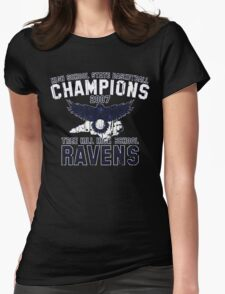 Tree Hill High School Basketball Champions Womens Fitted T-Shirt
