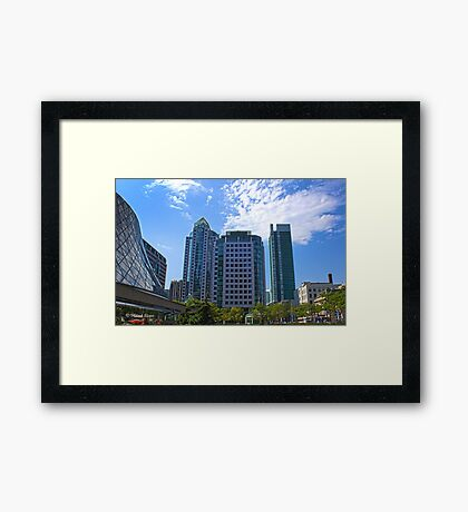 Toronto HDR Framed Print