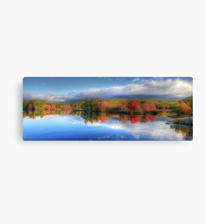 Autumn Panorama - Mt. Katahdin Canvas Print