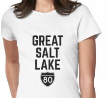 Great Salt Lake Womens Fitted T-Shirt