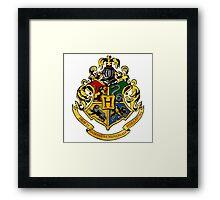 hogwarts logo Framed Print