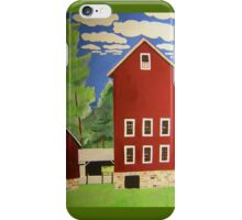 Tall Barn at Prallsville, NJ iPhone Case/Skin