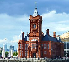 Pierhead Building, Cardiff, Wales, UK by Artberry