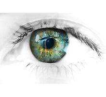 eye - edited Photographic Print