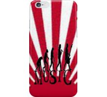 Evolution of Music iPhone Case/Skin