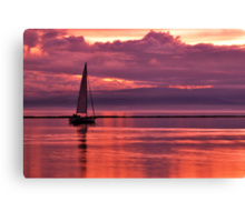 Sunset Cruise Canvas Print