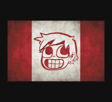 Scott Pilgrim Canada flag edition by rodrigoafp