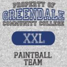 Greendale paintball team by ManofSmallTasks