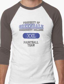 Greendale paintball team Men's Baseball ¾ T-Shirt