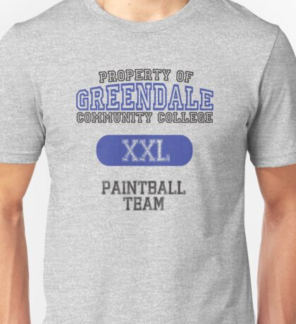 Greendale paintball team Unisex T-Shirt