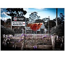 2nd Australiana version Photographic Print