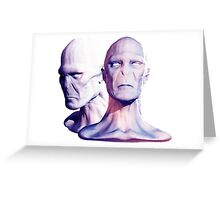 voldemort Greeting Card
