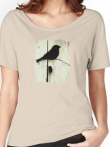 Early Bird  - JUSTART ©  Women's Relaxed Fit T-Shirt