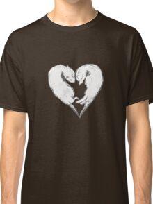 Sweet Otter Love Heart Classic T-Shirt