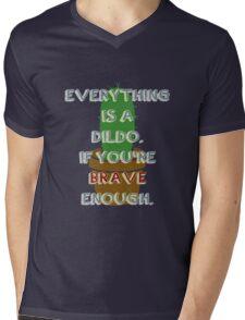 Bravery Mens V-Neck T-Shirt