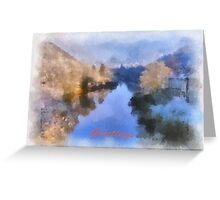 Greetings Severn Gorge Greeting Card