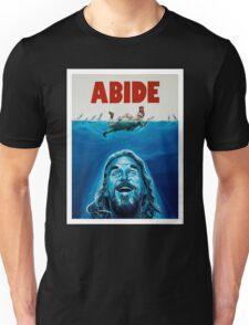 The Big Lebowski Abide Jaws Unisex T-Shirt