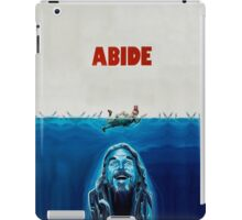 The Big Lebowski Abide Jaws iPad Case/Skin