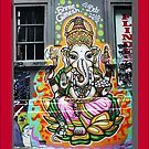Shree Ganesh Graffiti by Roz McQuillan
