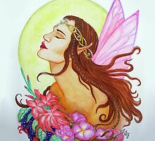 The Floral Fairy by Sandra Gale